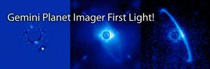 Gemini Planet Imager First Light!