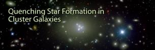Quenching Star Formation in Cluster Galaxies