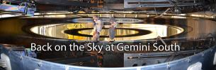 Back on the Sky at Gemini South