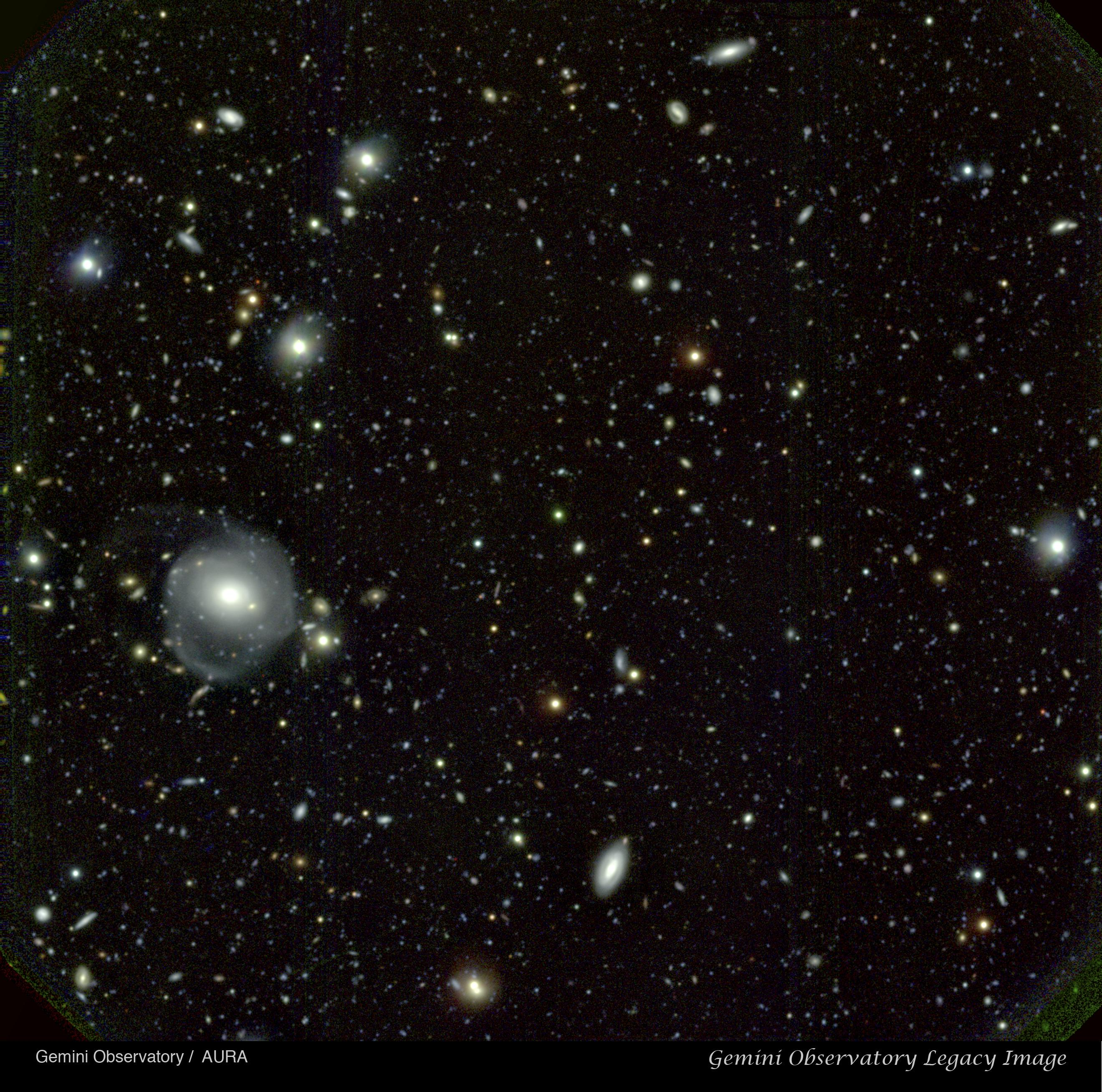 Quasar & Deep Galaxy Field