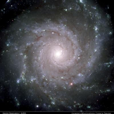 Perfect Spiral M74