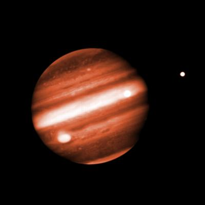 Jupiter in Near-Infrared