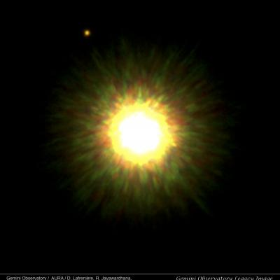 First Picture of Likely Planet around Sun-like Star