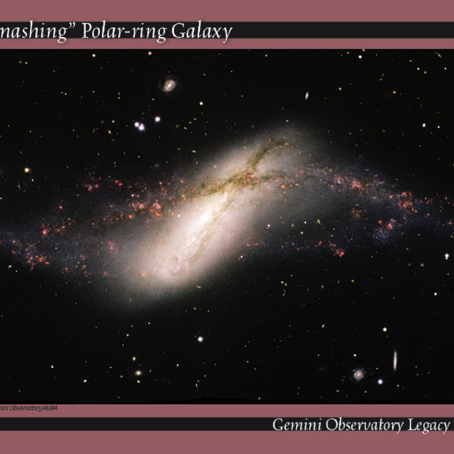 Polar-ring galaxy NGC 660