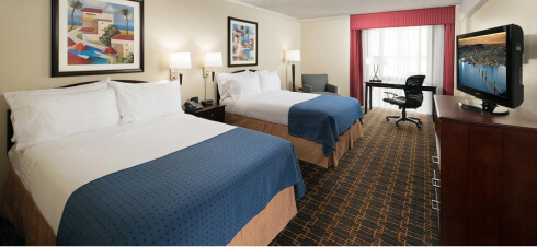 Holiday Inn Room with two beds