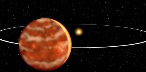 Illustration of Brown Dwarf