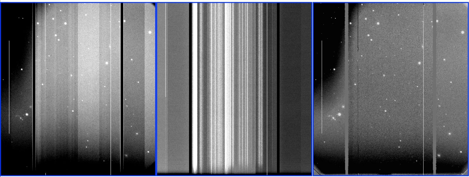 Status And Availability Gemini Observatory Axxess Gmos 04 Install Guide Left S R Band Raw Image Taken On 4 29 18 Middle Bias Pattern In Ccd2 Right Reduced After Applying Subtraction