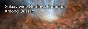 Galaxy-wide Outflows Common Among Quasars