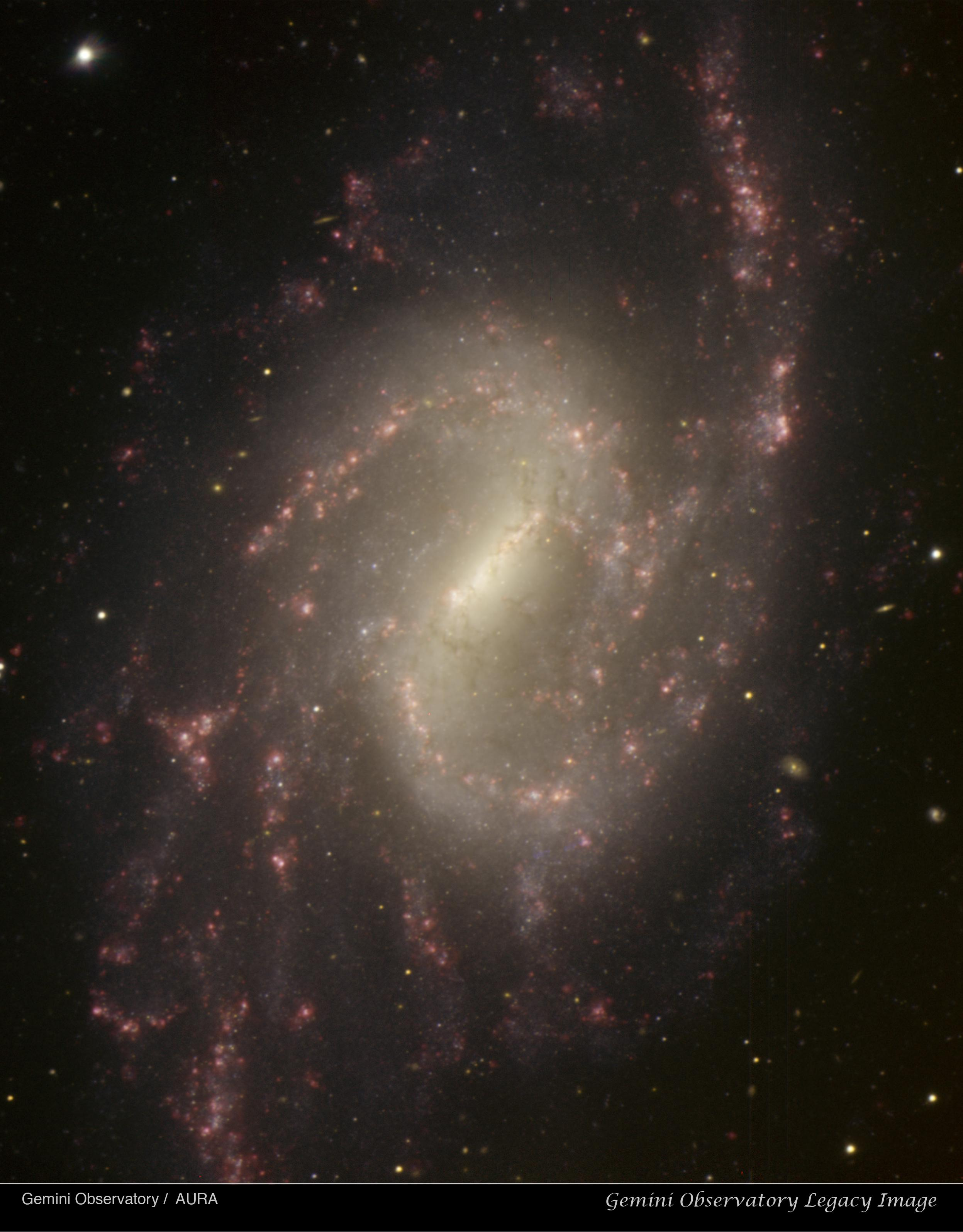 NGC 3359 – Meet Me at the Bar