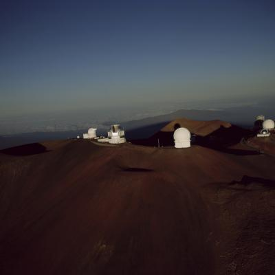 Aerial Sunrise on Mauna Kea