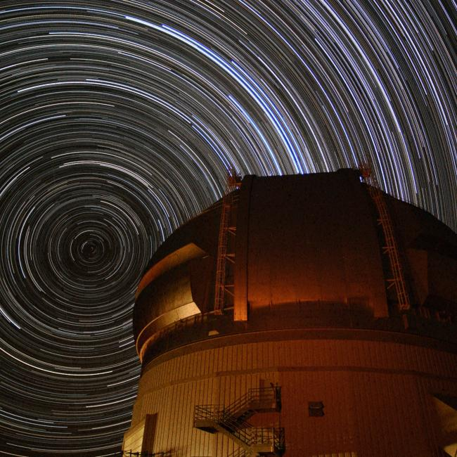 Extreme Southern Star Trails